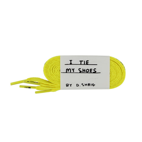 laces-david-shrigley_yellow